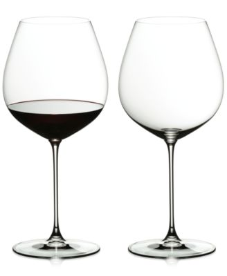 Riedel Veritas New World Pinot Noir Wine Glass Set of 2