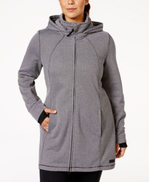 Calvin Klein Performance Plus Size Hooded Active Jacket