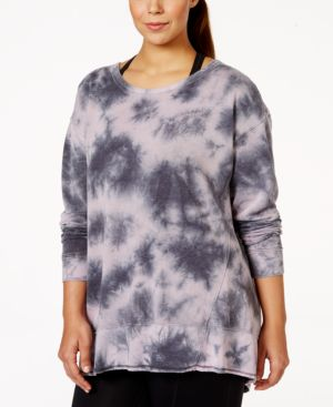 Calvin Klein Performance Plus Size Pullover Active Sweatshirt