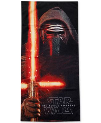 Star Wars Kylo Ren Beach Towel from Jay Franco