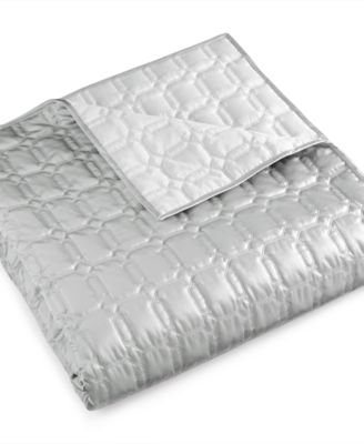 Hotel Collection Chalice Quilted Full/Queen Coverlet, Only at Macy's