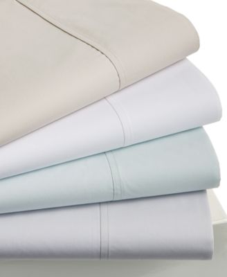 Hotel Collection 470 Thread Count Percale Supima Cotton Pair of Standard Pillowcases, Only at Macy's
