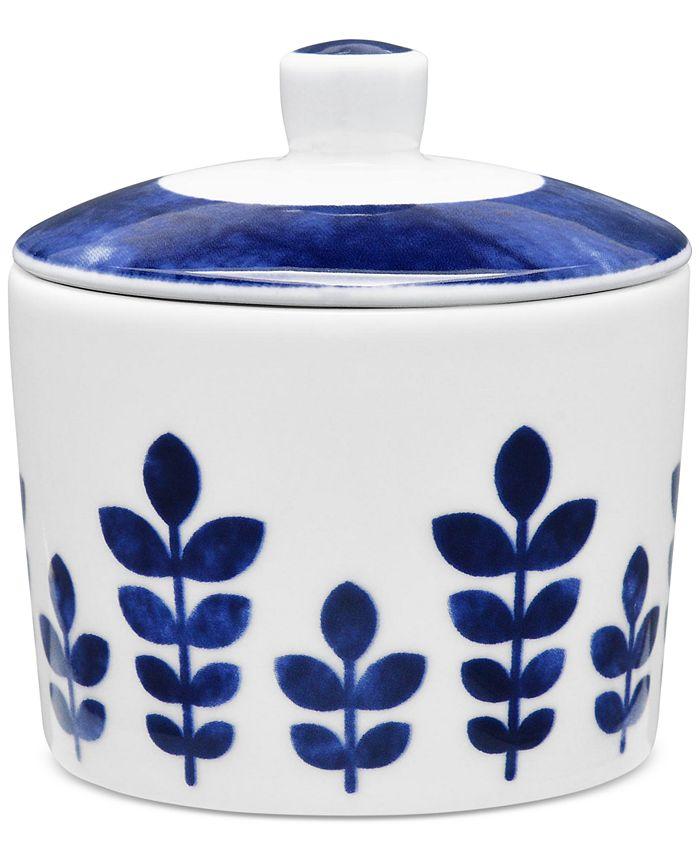 Noritake - Sandefjord Collection Porcelain 2-Pc. Lidded Sugar Dish