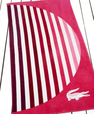 Lacoste Sunset Beach Towel