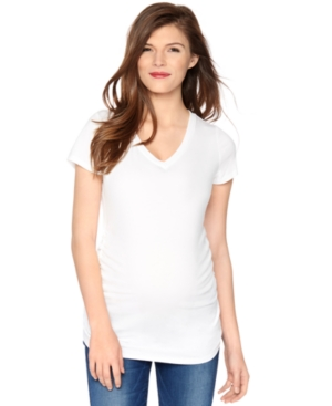 Motherhood Maternity V-Neck Tee plus size,  plus size fashion plus size appare