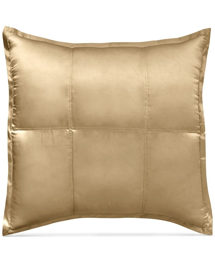 Home Reflection Gold Dust Quilted Silk, Donna Karan Home Reflection Gold Dust Bedding Collection