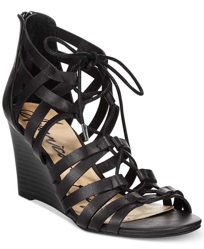 American Rag - Kyle Lace-Up Demi Wedge Sandals