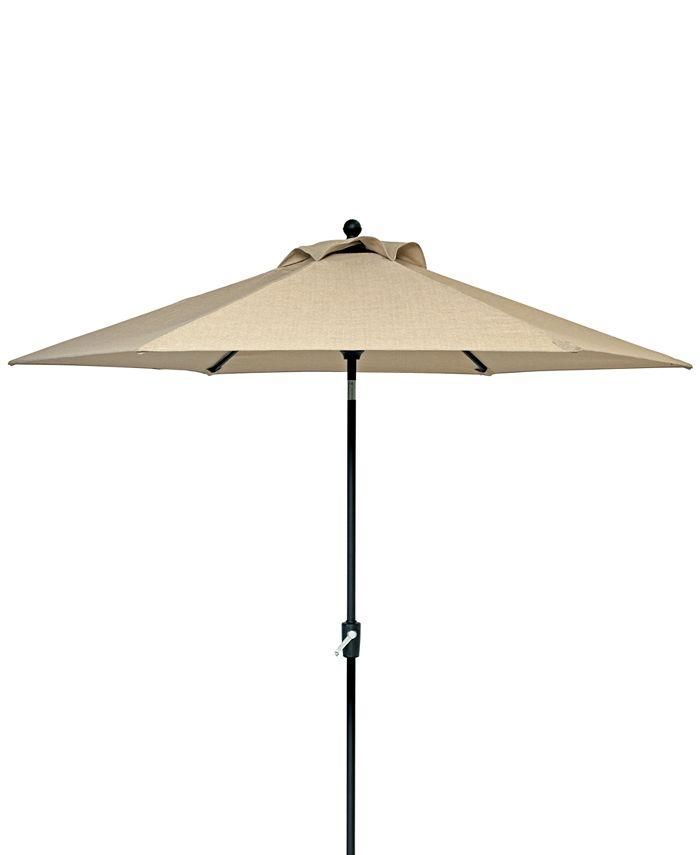 Furniture - Park Gate Outdoor 9' Auto-Tilt Umbrella