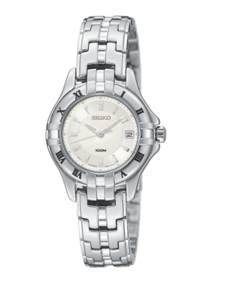 Seiko Watch, Women's Excelsior Stainless Steel Bracelet SXDA29