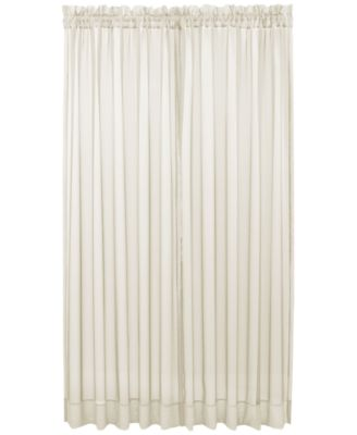 Martha Stewart Collection Savannah Scroll Ivory Window Treatment, Only at Macy's