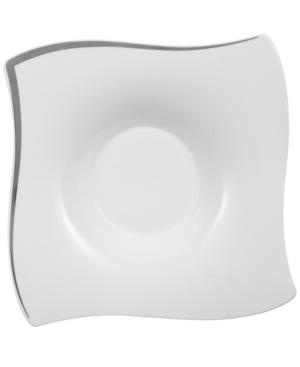 Villeroy & Boch New Wave Premium Platinum Rim Soup Bowl
