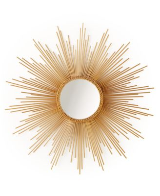 Home Design Studio Large Sunburst Mirror
