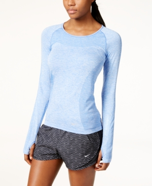 f6ff6606c056 ... UPC 888410910726 product image for Nike Dri-fit Knit Long-Sleeve  Running Top