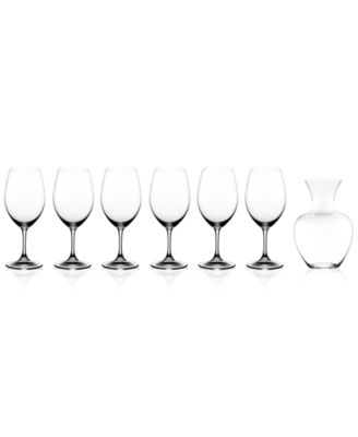 Riedel Ouverture Magnum Glasses & Apple Decanter 7 Piece Value Set