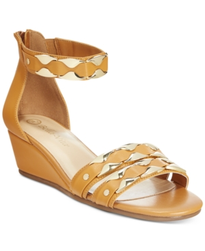 Bella Vita Imogen Ankle-Strap Wedge Sandals Women's Shoes