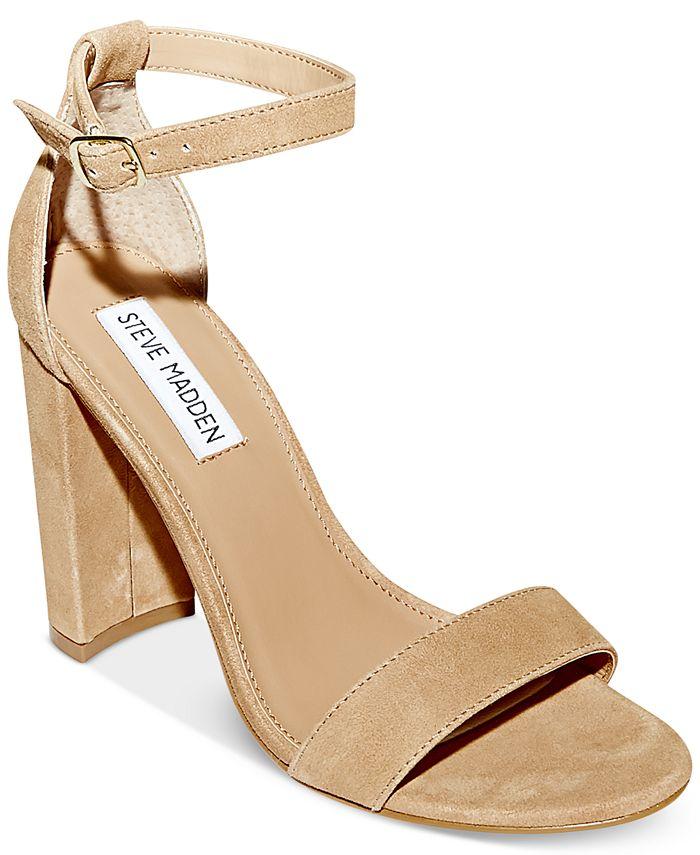 Steve Madden - Women's Carrson Ankle-Strap Sandals