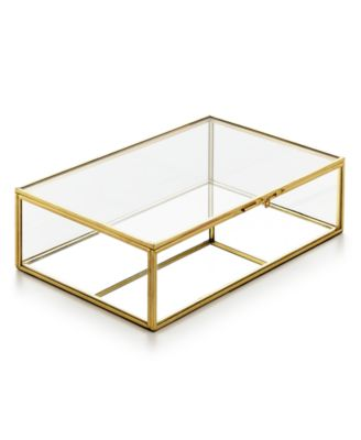 Home Design Studio Medium Glass Box, Only at Macy's