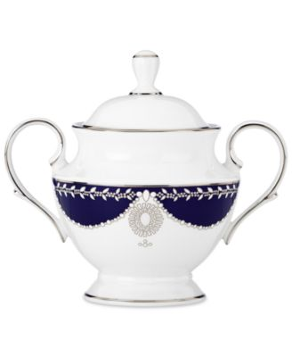 Empire Pearl Collection 2-Pc. Lidded Sugar Dish