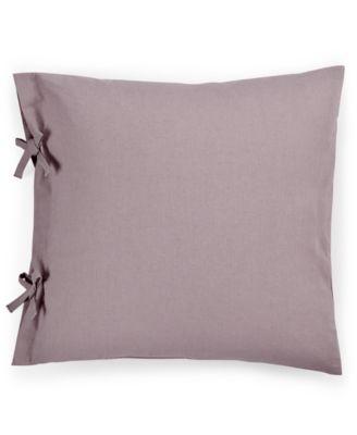 "Calvin Klein Mesa Tie Sleeve 18"" Square Decorative Pillow"