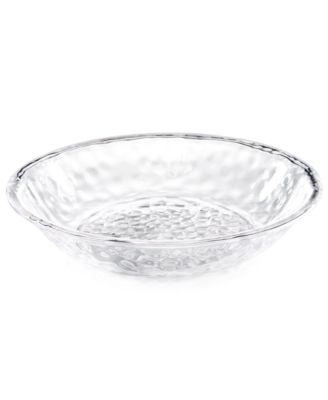 Home Design Studio Clear Acrylic Serveware Collection Serving Bowl, Only at Macy's