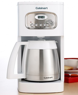 Cuisinart DCC 1150 10 Cups Coffee Maker Refurb White eBay