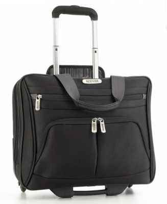 Kenneth Cole Reaction Computer Case, Ladies' Triple-Compartment Zip-Top