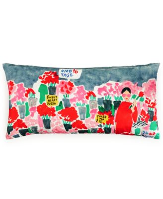 "kate spade new york Flower Market 10"" x 20"" Decorative Pillow"