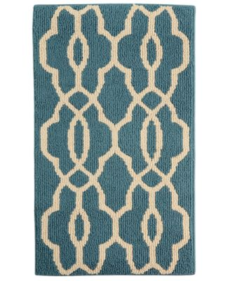 "Maples Currie Blue 20"" x 34"" Accent Rug, A Macy's Exclusive Style"