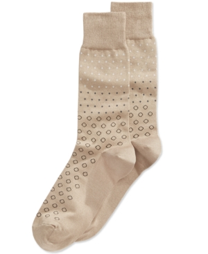 1920s-1950s New Vintage Men's Socks Perry Ellis Mens Multi-Dot Dress Socks $9.00 AT vintagedancer.com