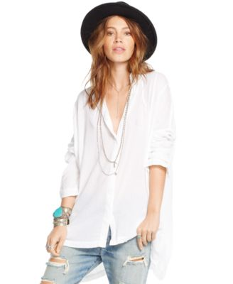 Denim & Supply Ralph Lauren Cotton Gauze Tunic