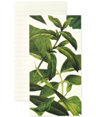 kate spade new york Leaves Large Notepad