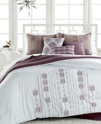 Sarah 7-Pc. Embroidered Queen Comforter Set