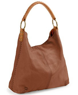 Macy*s - Handbags & Accessories - Lucky Brand Jeans Medium Slouch Leather Hobo Bag from macys.com