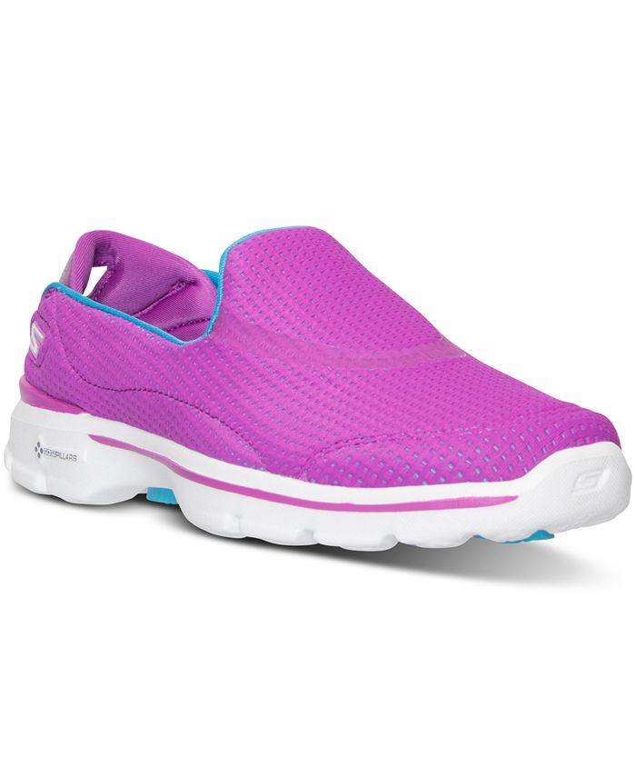 Skechers - Women's GOwalk 3 - Unfold Walking Sneakers from Finish Line