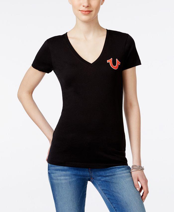 True Religion - Short-Sleeve Logo T-Shirt