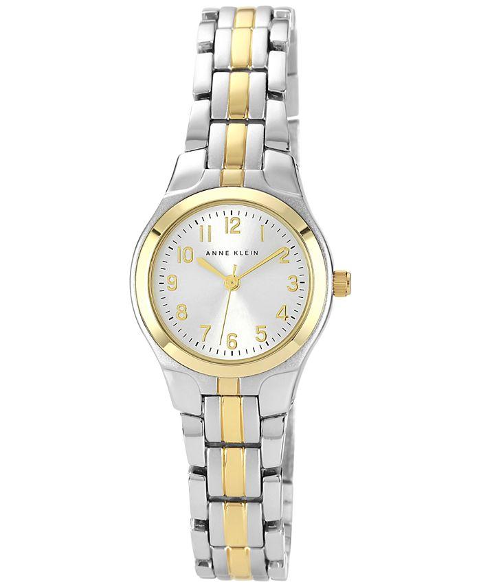 Anne Klein - Watch, Women's Two Tone Bracelet 28x26mm 10-5491SVTT