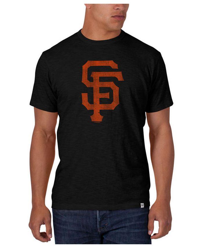'47 Brand - Men's San Francisco Giants Scrum Logo T-Shirt