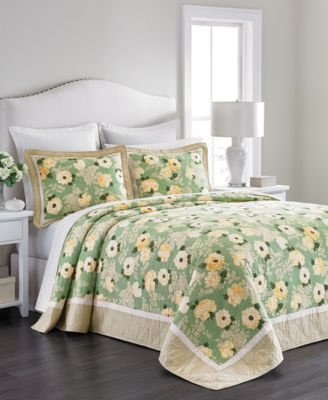 Martha Stewart Collection Old World Rose Queen Bedspread, Only at Macy's