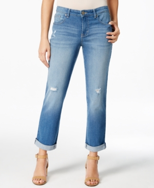 Style & Co. Cropped Saint Wash Jeans  Only at Macy's