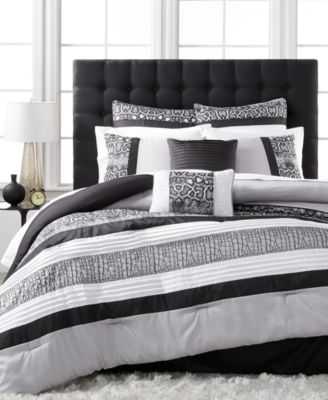 Sarpa 8-Pc. King Comforter Set