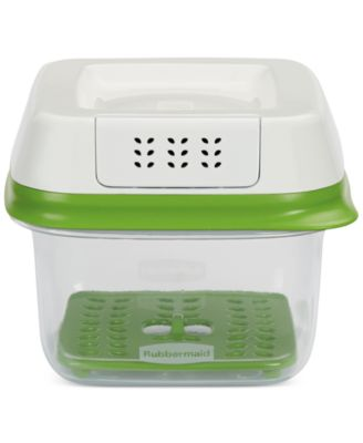 Rubbermaid FreshWorks 2.5-Cup Small Produce Saver