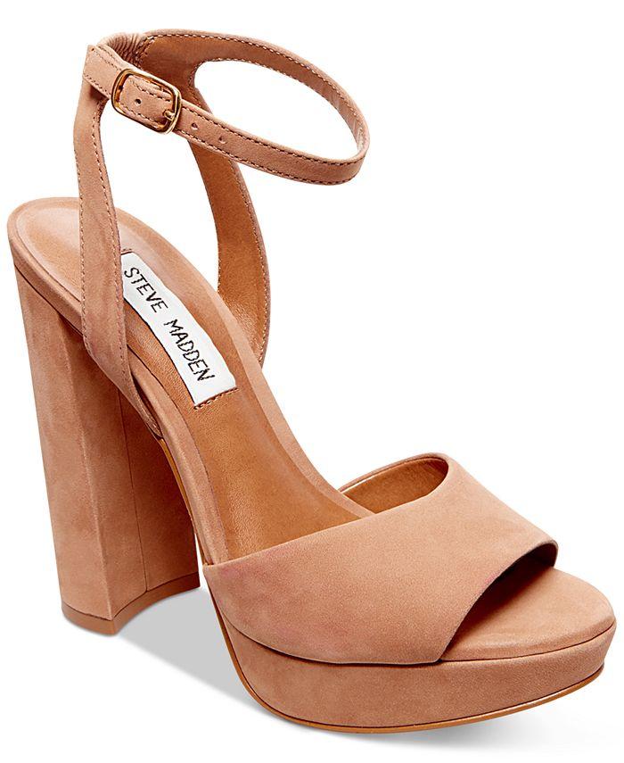 Steve Madden - Women's Britt Platform Sandals