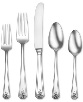 Oneida Deauville 45-Piece Flatware Set