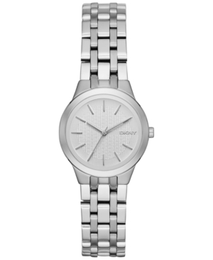 Dkny Women's Park Slope Stainless Steel Bracelet Watch 28mm NY2490