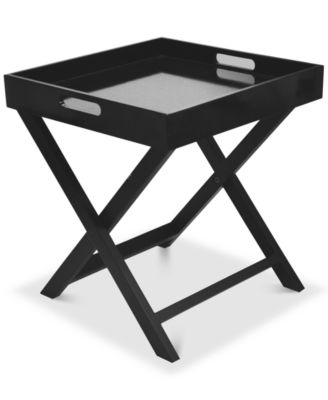 Boyde Tray Table With Removable Tray, Direct Ship