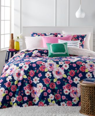Whim by Martha Stewart Collection Fleurtatious 5-Pc. Full/Queen Comforter Set, Only at Macy's