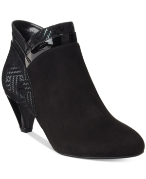 Karen Scott Cahleb Dress Booties, Only at Macy's Women's Shoes