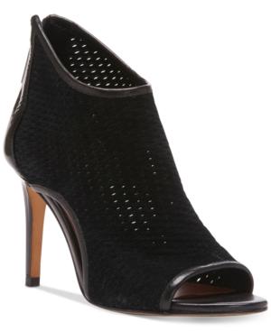 Donald J Pliner Ashlyn Peep-Toe Perforated Shooties Women's Shoes