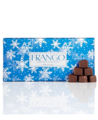 Image of Frango Chocolates, 45-Pc. Holiday Wrapped Dark Mint Box of Chocolates
