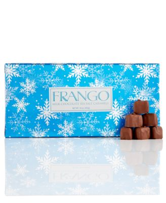 Image of Frango Chocolates 45-Pc. Holiday Wrapped Sea Salt Caramel Box of Chocolates